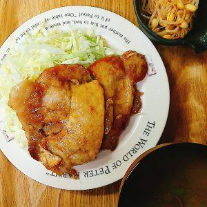 夕飯_糖質制限食