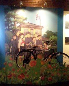 俊君が乗った自転車